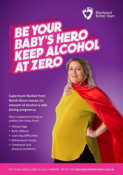 SuperMum: Be your baby's hero keep alcohol at zero