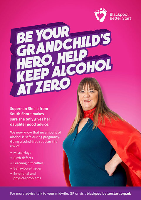 SuperNan: Be your baby's hero keep alcohol at zero