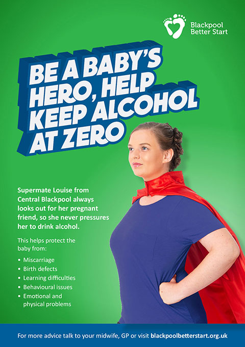 SuperMate: Be your baby's hero keep alcohol at zero