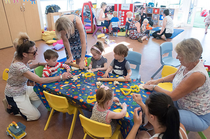Baines Children's Centre Toddler Activities