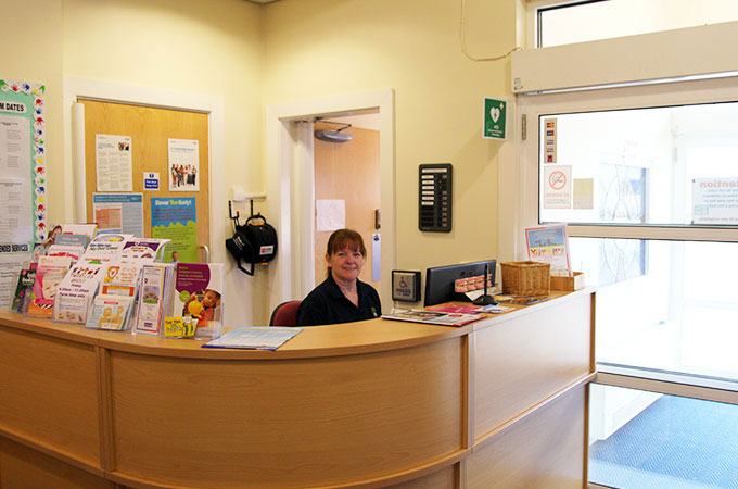 Baines Children's Centre Reception