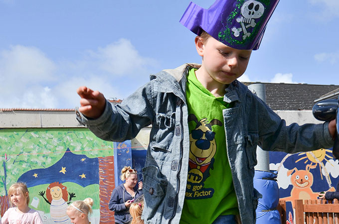 Pirate Play at Talbot & Brunswick Children's Centre