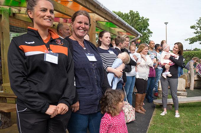 Grange Park Opening Event