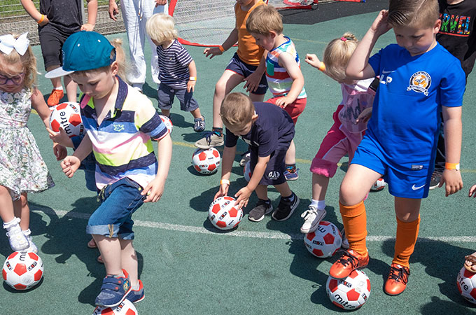 Football Skills at Grange Park