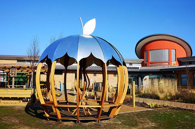apple hub - outdoor space in Blackpool