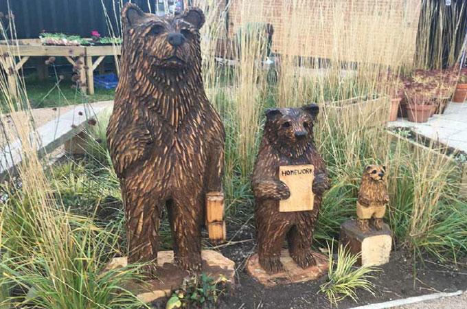 Bears @thegrange green space