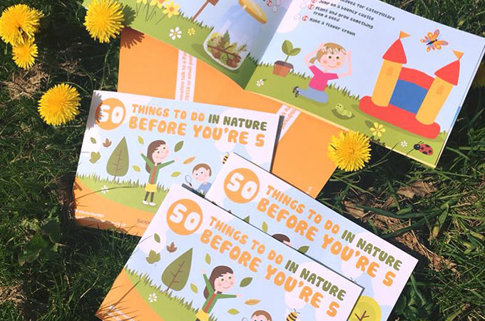 50 things to do in nature before you're 5