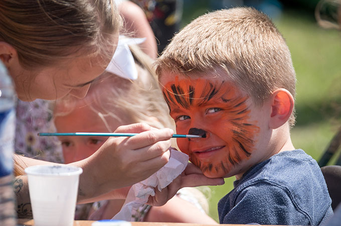 Face Painting at Family Fun Day