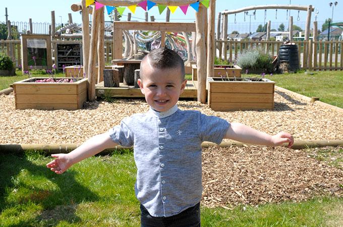 Mereside Park Adventure Play Area Blackpool