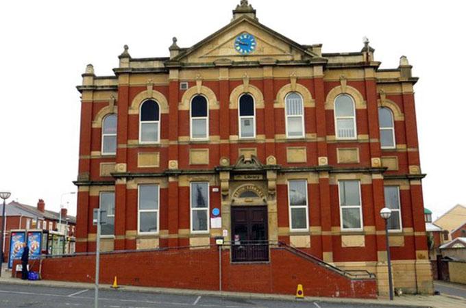 Revoe Library - Family Hub - Blackpool