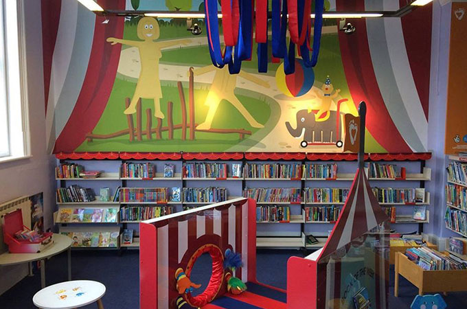 Revoe Library Children's Area