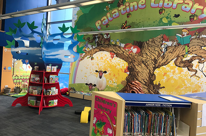 Palatine Library Children's books