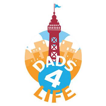 Dads4Life Logo Blackpool
